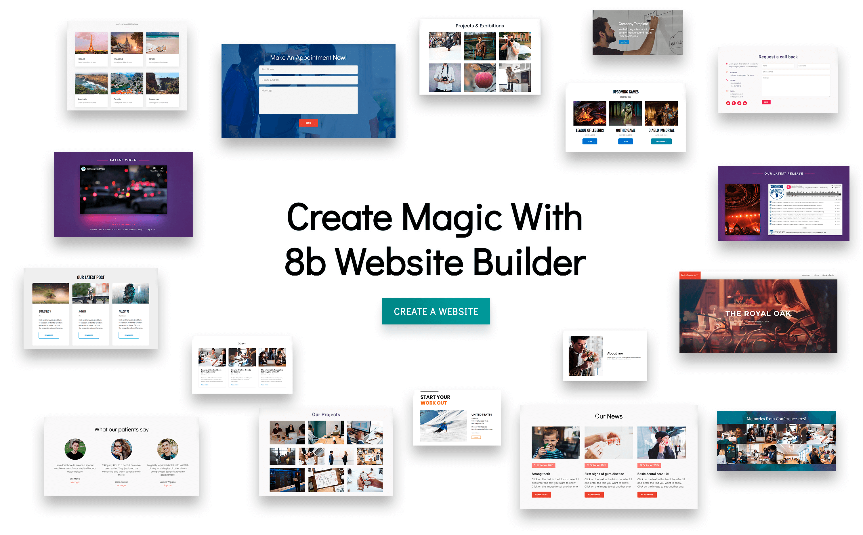 make a free website online easy