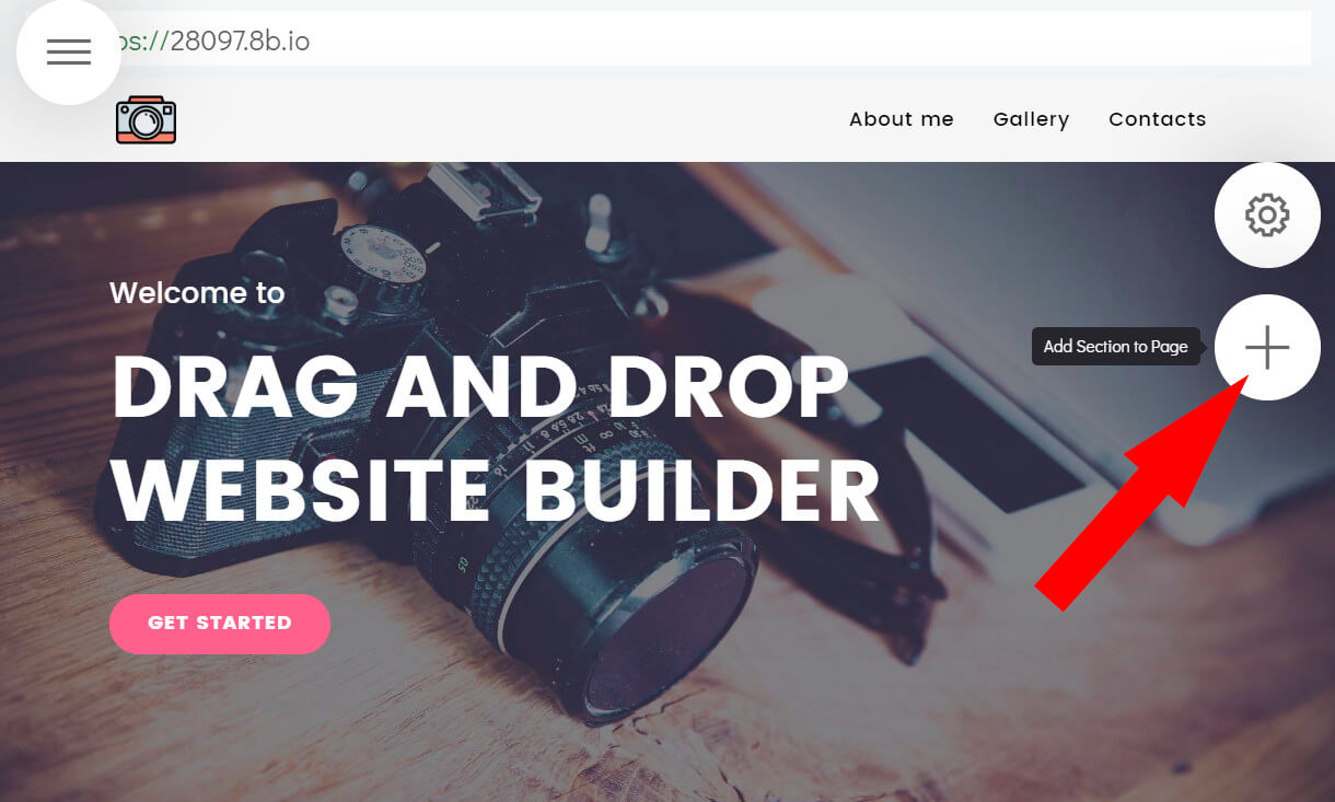 Drag and Drop Website Builder - Innovational App in 2019 - 8b