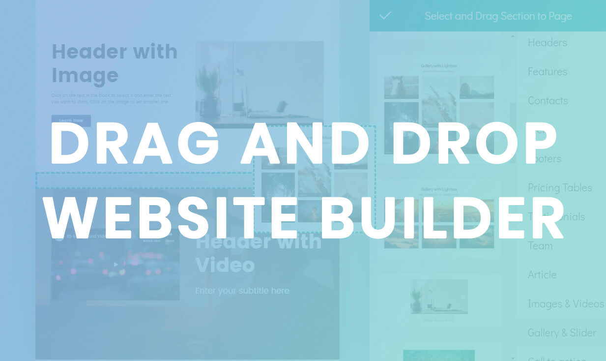Drag And Drop Website Builder Innovational App In 2020